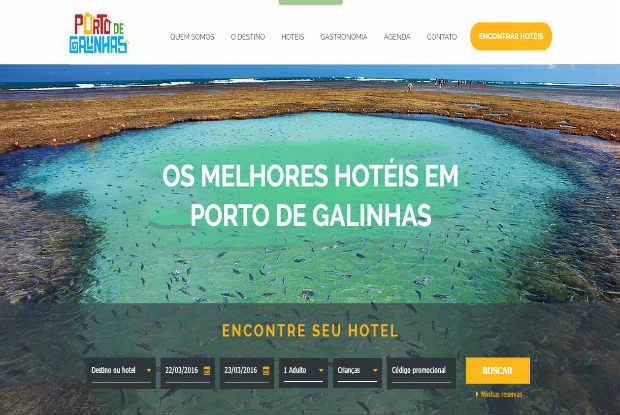 O site conterá conta com um acervo de imagens do destino e depoimentos de visitantes. Foto: Divulgação.
