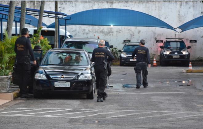 Cerca de 200 policiais federais dão cumprimento a 60 mandados judiciais. Foto: PF/Divulgação