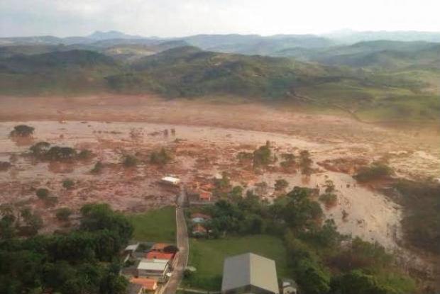 O rompimento da barragem do Fund