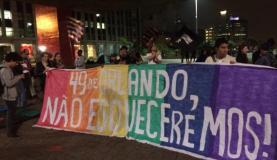 Os manifestantes protestaram contra a viol
