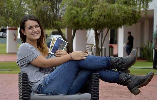 Giovanna planeja viagem à Europa para encontrar os amigos. Foto: Marcelo Ferreira/CB/D.A. Press