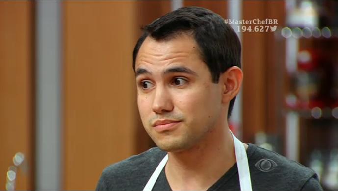Pedro cometeu vários erros no ceviche, como esquecer coentro e pimenta, servir camarão sujo. Foto: Band/Reprodução