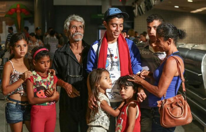 Aos seis anos, Denis morava com os pais e três irmãos em baixo de uma ponte em Ipojuca. Foto: Ademar Filho/Governo de Pernambuco