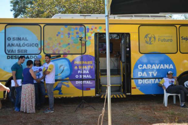 A Caravana Digital tem o objetivo de informar a popula