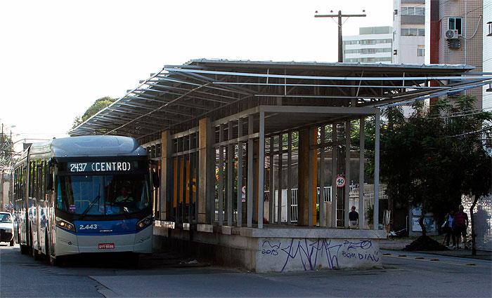 Neste ano, não deve ter nenhuma ampliação do BRT no Grande Recife. Foto: Nando Chiappetta/DP