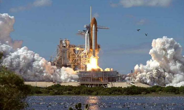 Estação oferece observação do lançamento de um foguete. Foto: Kennedy Center Space/Divulgação