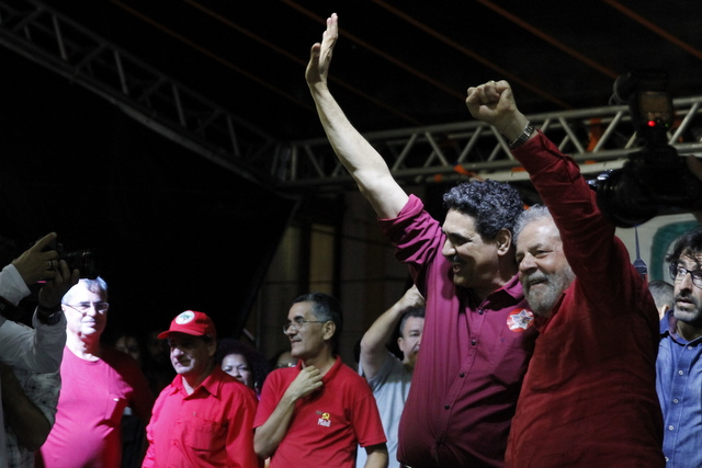 Dos cinco candidatos do PT no Nordeste, o ex-prefeito Jo