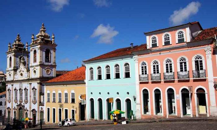 Herança do período colonial, o Largo do Pelourinho, em Salvador (BA), foi incluído na lista em 1985. Foto: Adenilson Nunes/Secom Bahia