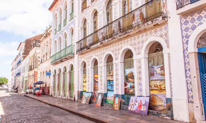 Em São Luís do Maranhão, quatro mil imóveis devem ser protegidos como patrimônio. Foto: Mariana Costa/Secom UnB