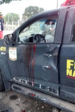 Soldados foram baleados ao entrar por engano em favela. Foto: Reprodu