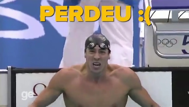 Nadador disse que poderia provar a vitória. Foto: GE/Reprodução