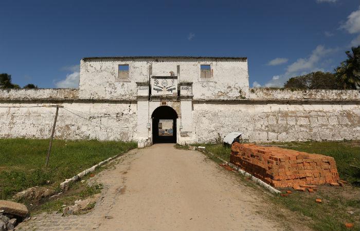 Forte Santo Inácio de Loyola, Forte de Tamandaré. Foto: Hesíodo Goes/ Seturel-PE/ Divulgação