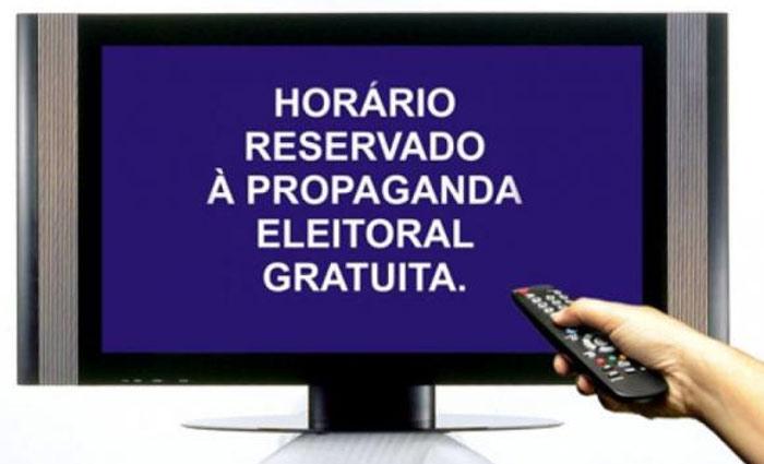 Programa de propaganda eleitoral gratuito. Foto: Agência Brasil/Arquivo