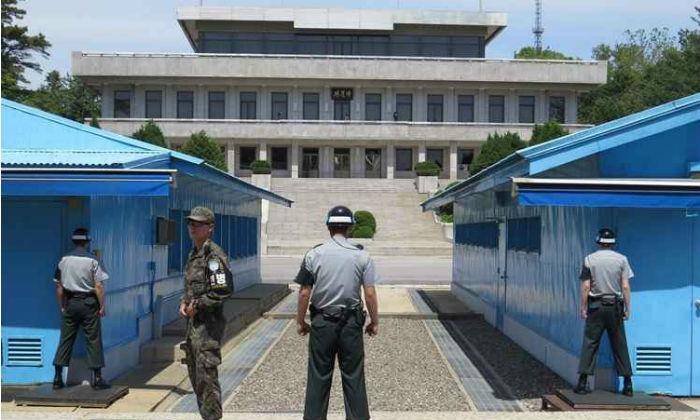 Zona Desmilitarizada - DMZ, na fronteira entre Coreia do Sul e Coreia do Norte. Foto: Rodrigo Craveiro/CB/D.A. Press