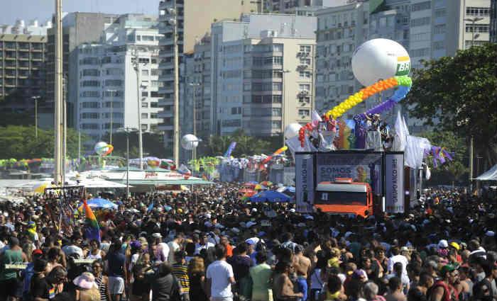 Na eleição de melhor destino LGBT da América Latina, a cidade brasileira ficou em segundo lugar. Foto: Fernando Frazão/Agência Brasil