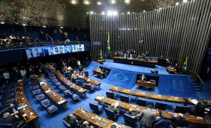 Brasília - Embora a votação seja aberta, ela será eletrônica, no painel, e não haverá chamada nominal para que os senadores pronunciem seus votos oralmente. Foto: Marcelo Camargo/Agência Brasil