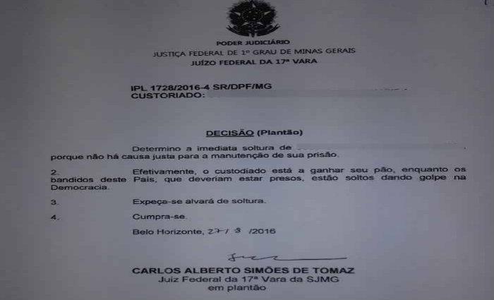O juiz Carlos Alberto Sim