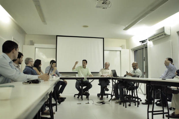 Em palestra na TGI,o tucano prometeu rever o programa de revitaliza