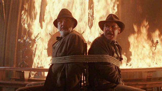 'Indiana Jones e a última cruzada'. Foto: Lucasfilm/Reprodução
