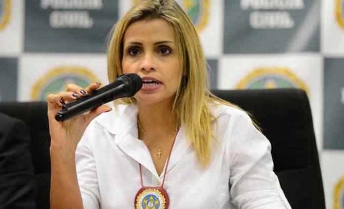 A delegada Cristiana Bento diz acreditar que os crimes v
