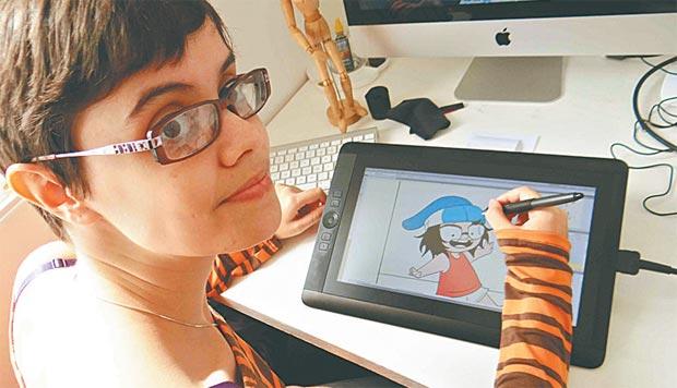 """""""As mulheres sempre estiveram aí. Só que agora aparecem mais"""", acredita Bianca Pinheiro, autora de Bear. Foto: Nemo/Divulgação."""