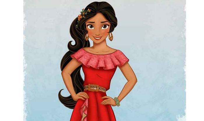 Além da música e dos hábitos, o figurino da princesa, criado pela designer brasileira Layana Aguilar, também reflete suas origens e faz referência à cultura latina. Foto: Disney/Reprodução