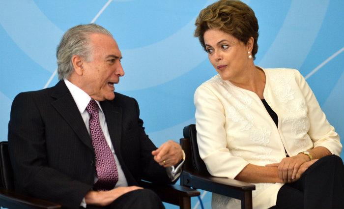 Chapa Dilma-Temer est
