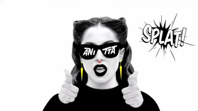 Anitta dividirá espaço com Justin Bieber, Psy e Beyoncé. Foto:YouTube/Reprodução.
