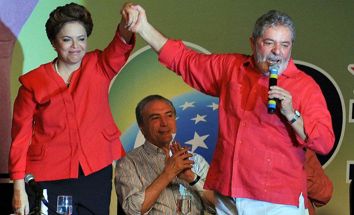 Dilma e Lula durante campanha presidencial. Foto: Valter Campanato/Ag
