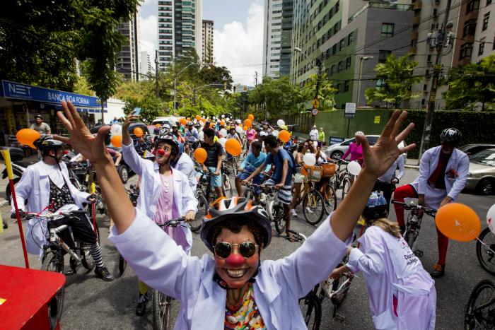 Em sua terceira edição, passeio é gratuito. Foto: Lana Pinho/Doutores da Alegria/Divulgação
