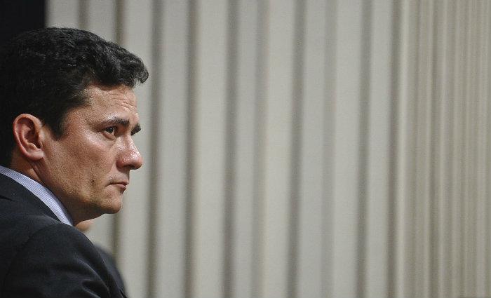 Advogados tiveram investida contra Moro frustrada. Foto: Marcos Oliveira/Ag