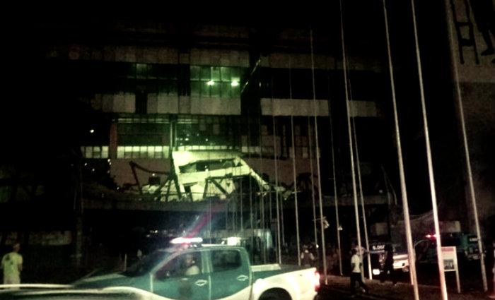 Acidente aconteceu por volta das 21h. Foto: Marco Costa/Arquivo pessoal