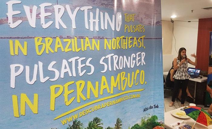 Para divulgar Pernambuco, Secretaria de Turismo e Lazer apresenta o estado como o coração do Nordeste. Foto: Fred Figueiroa/DP