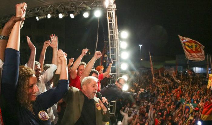 Ex-presidente Lula, durante com