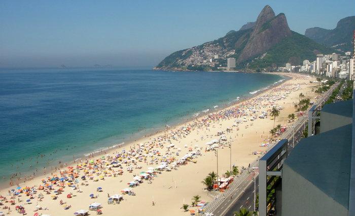 Praia de Ipanema, no Rio de Janeiro. Foto: