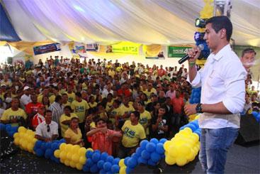 Marcos Filho conta com as doa