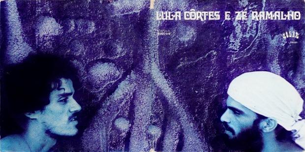 Capa do LP duplo foi desenvolvida pela artista, designer e cineasta Kátia Mesel