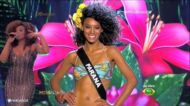 Nas redes sociais, candidata do Paraná teve a maior torcida. Foto: Twitter/Reprodução