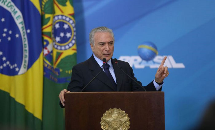 Temer disse que a oposi