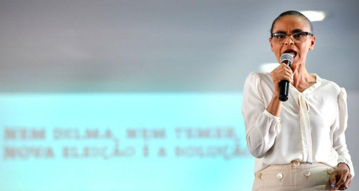 """Marina Silva: """"O Temer s"""