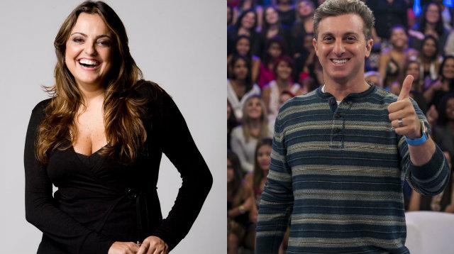 A colunista Fabíola Reipert fez comentários sobre crise conjugal de Luciano e Angélica e perdeu o processo. Foto: Record/Globo/Divulgação