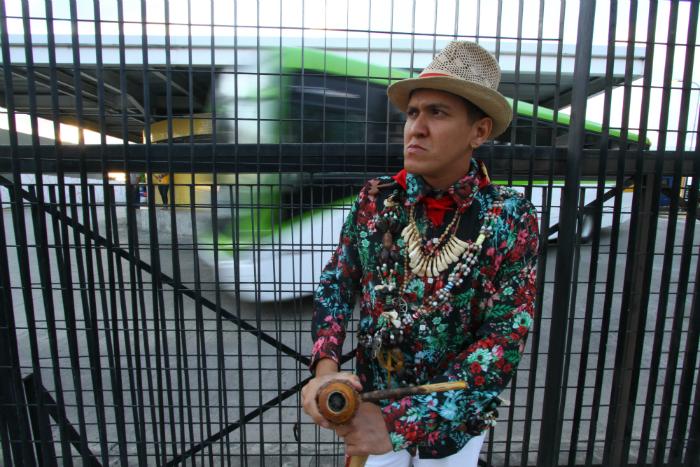 Alexandre se sentiu ofendido durante viagem de ônibus. Foto: Rafael Martins/DP