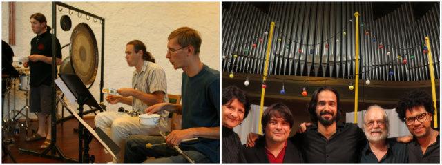 Ensemble U: e ABSTRAI Ensemble protagonizam concertos na Ordem Terceira de São Francisco. Fotos: Divulgação