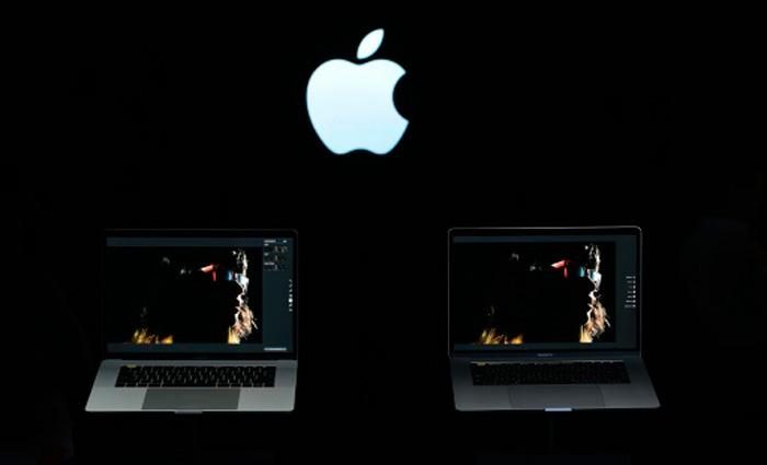 A marca agregou ainda aos computadores portáteis o sistema de reconhecimento de impressões digitais. Foto: AFP Josh Edelson