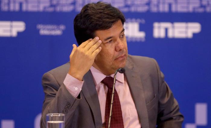 O MEC estabeleceu o prazo para a desocupação até as 23h59 dessa segunda-feira. Foto: Wilson Dias/Agência Brasil