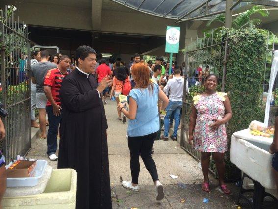 Padre atua em Nova Descoberta. Crédito: Wagner Oliveira/DP