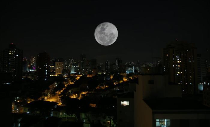 O Diario repassa algumas dicas de fotografia para você registrar a superlua nesta segunda e terça-feira. Foto: Paulo Pinto/Foto Pública