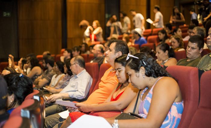 Festival chama a atenção para a função de sugerir ou revelar imagens às pessoas cegas ou com baixa visão. Foto: Alzio Dias/Divulgação
