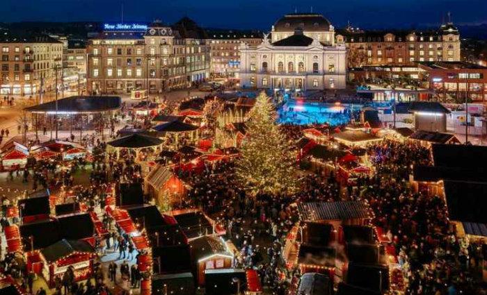 Casa de Ópera de Zurique é uma boa pedida na cidade suíça. Foto: Zuerich.eu/Reprodução (Foto: Zuerich.eu/Reprodução)
