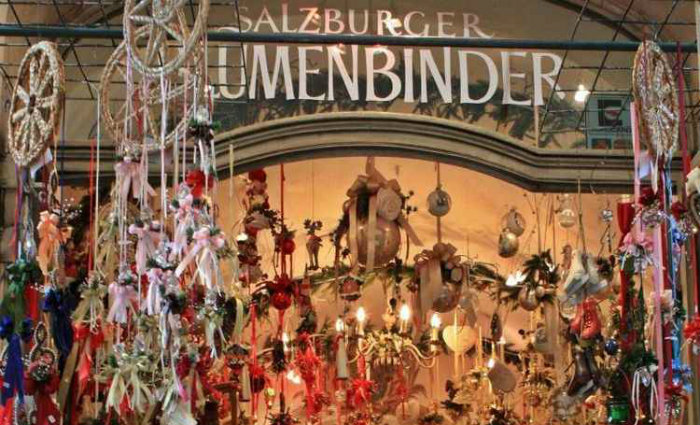 Mercado de Salzburg é ao ar livre. Foto: Bill Alan/Flickr/Reprodução (Mercado de Salzburg é ao ar livre. Foto: Bill Alan/Flickr/Reprodução)